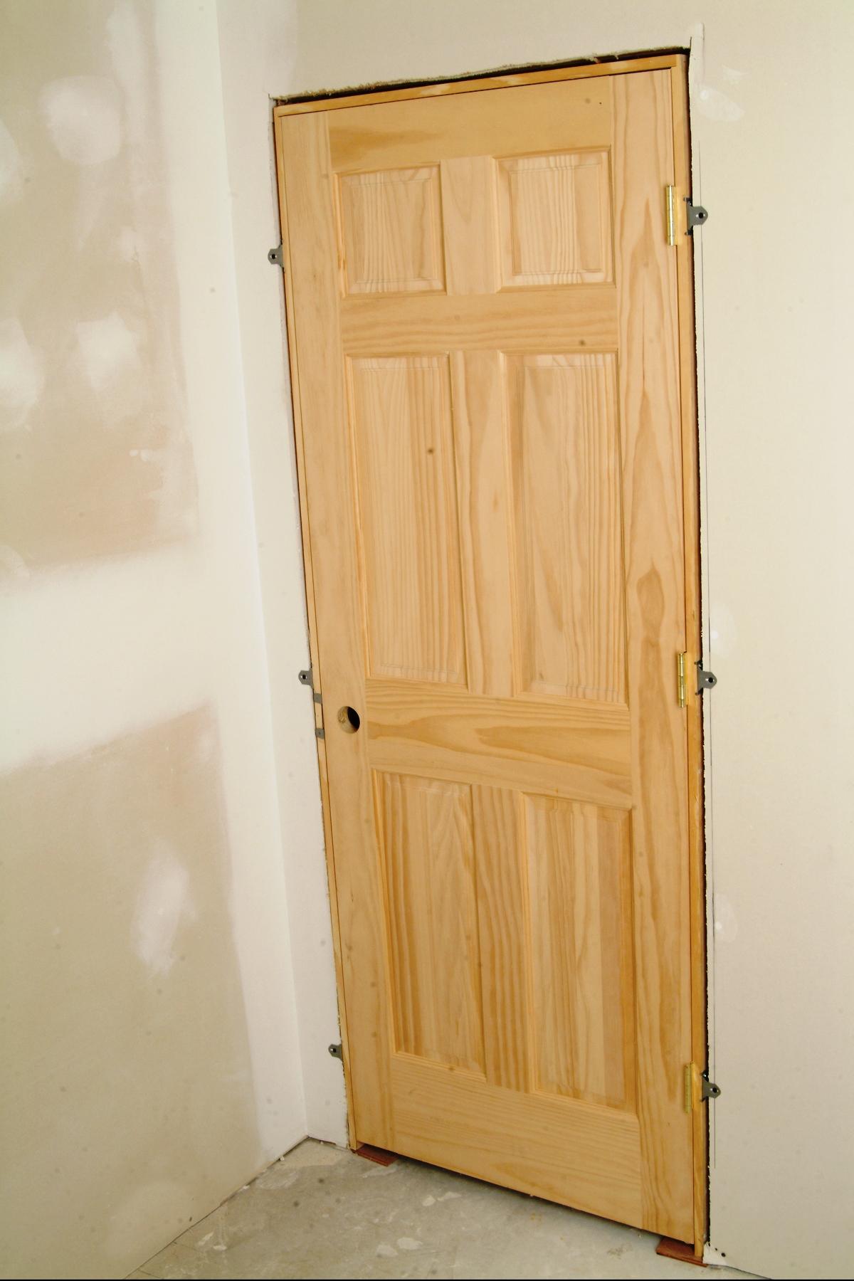 Installing Interior Door - 3 Easy Steps