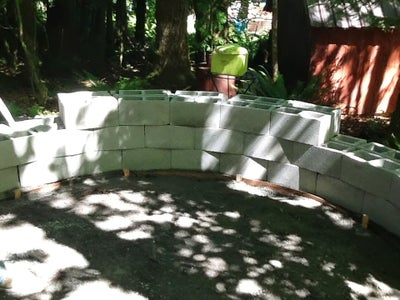4. Masonry Block Wall
