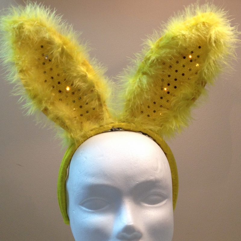 How to add sewable LEDs to Easter Bunny Ears