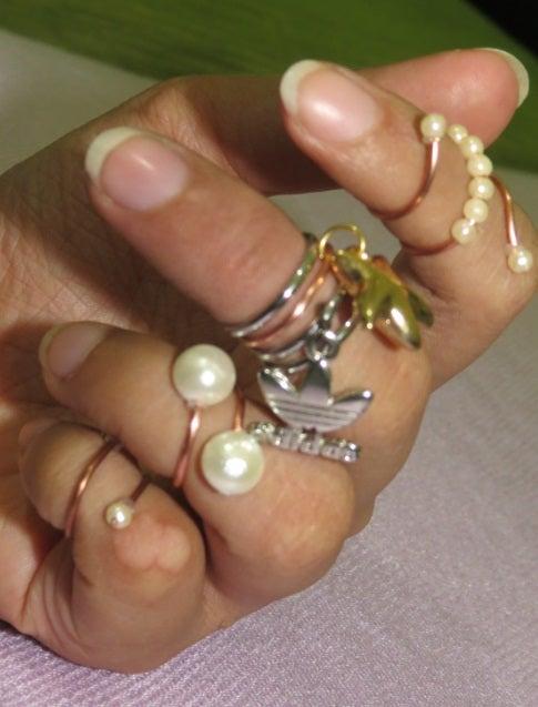 Dainty Knuckle Rings!!