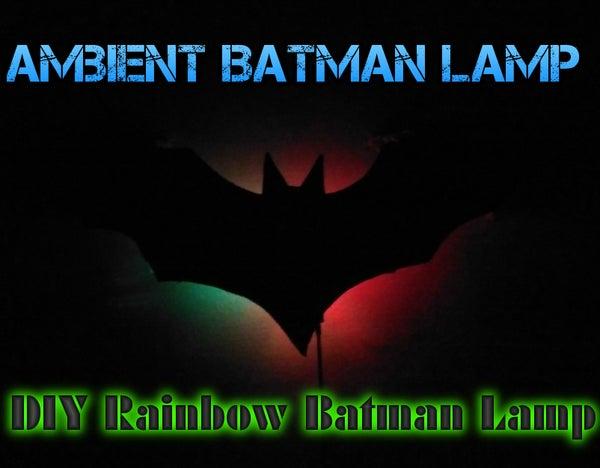 Ambient Batman Lamp - Arduino |Photo-Resistive| Auto-On When Dark | MultiColor