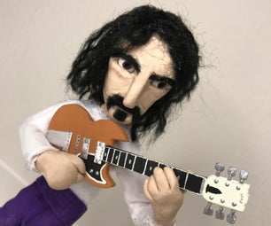 Making Of: Frank Zappa Stop-Motion Puppet