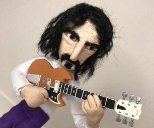 Frank Zappa Stop-Motion Puppet