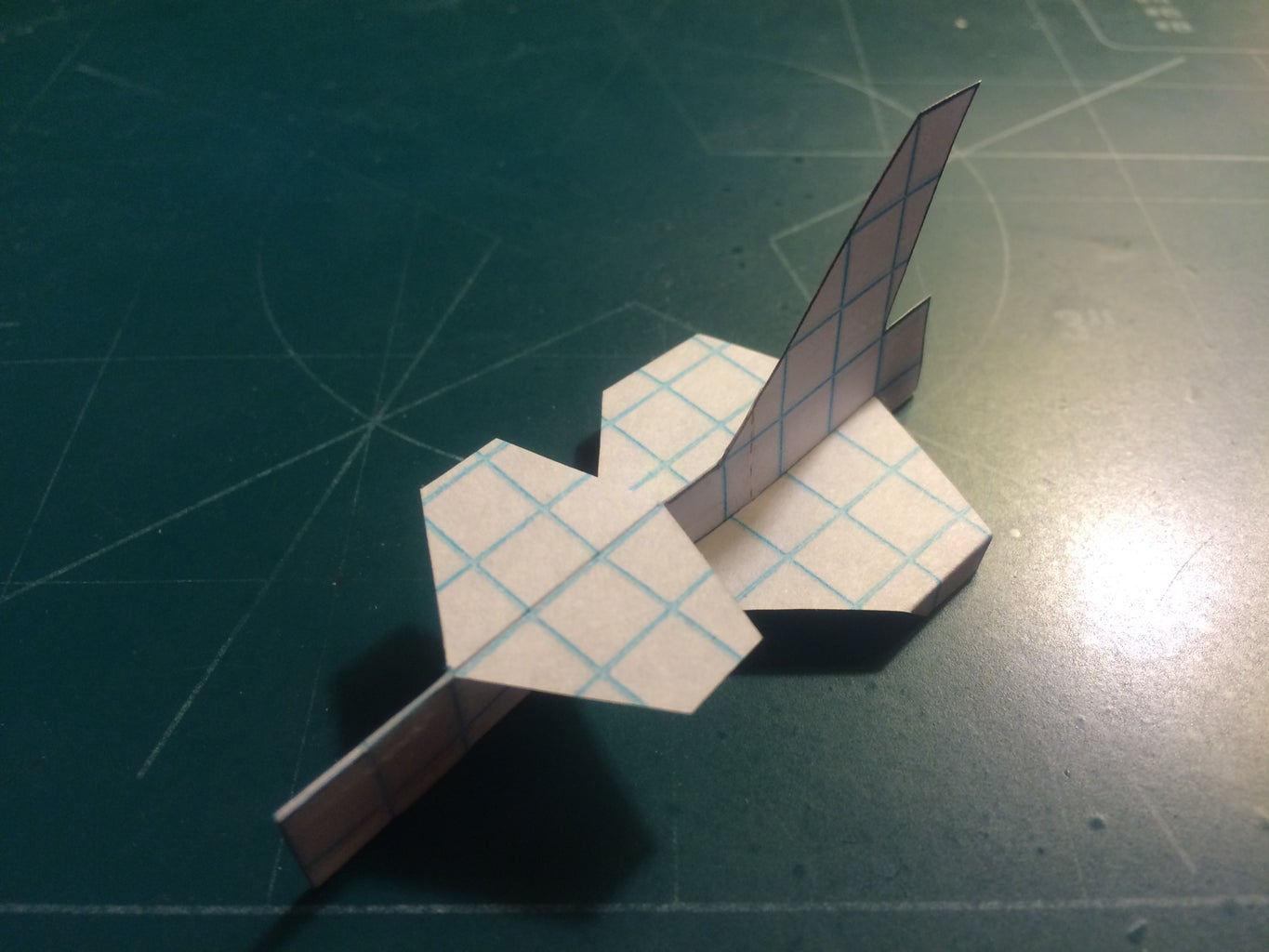 Applying the Wings; Taping and Stapling