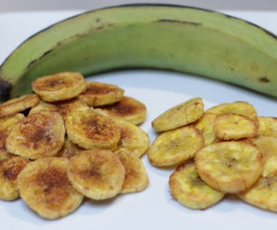 烤大蕉薯条
