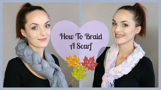 How to Braid a Scarf