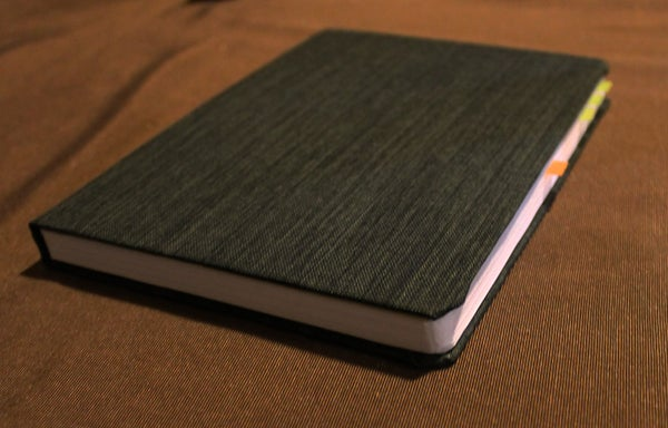 Hybrid Book Binding Method - Neat Edges, Tear-Out Pages, Easily Replacable Cover/Pages
