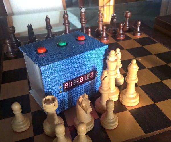 Arduino Chess Clock - Multi-game Box