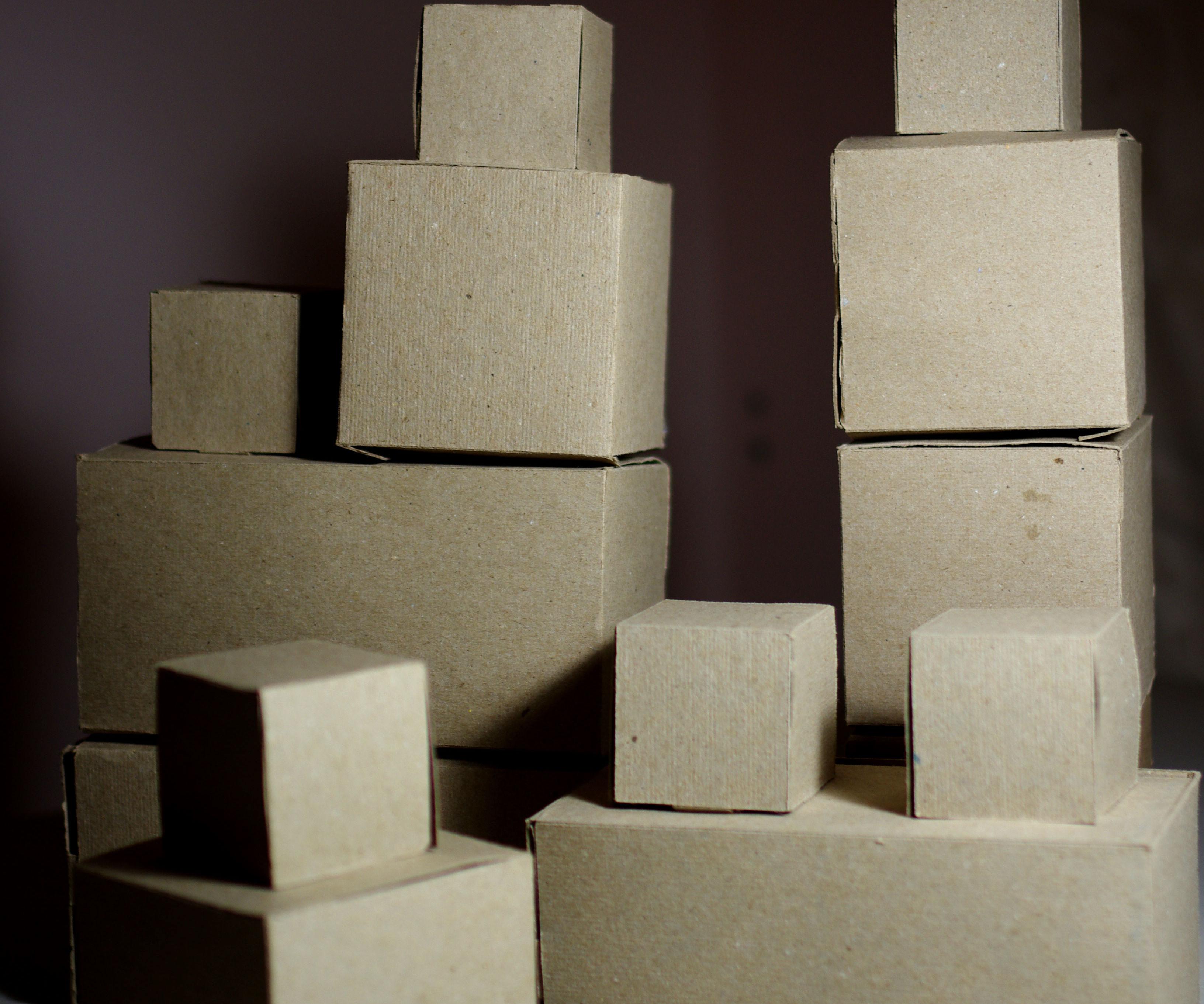 Giant Cardboard Blocks