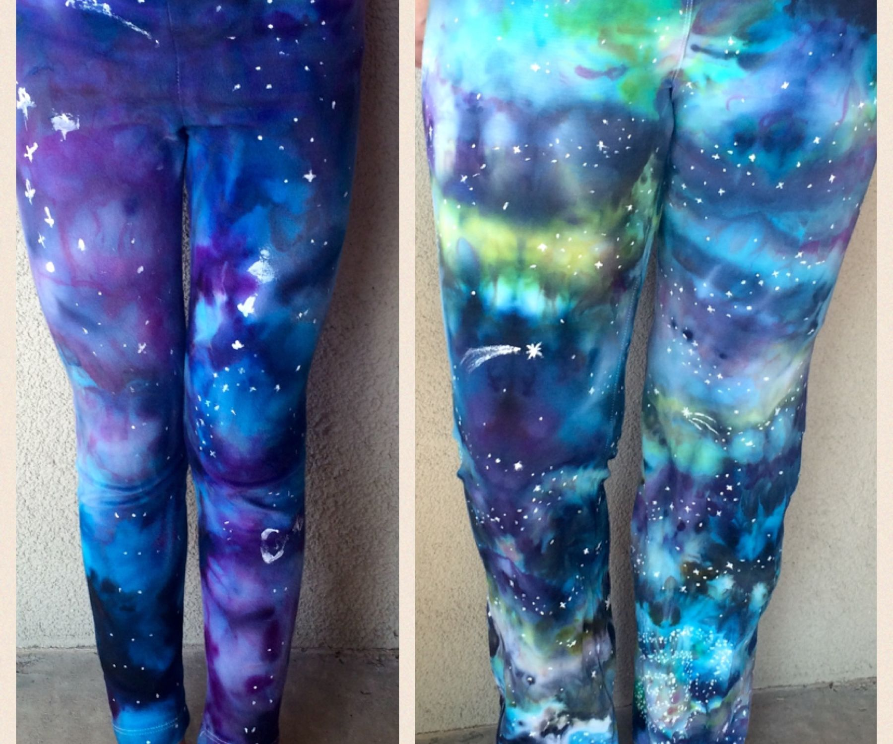Galaxy Dyed Pants