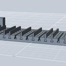 Electronic part organizer - 3d printed