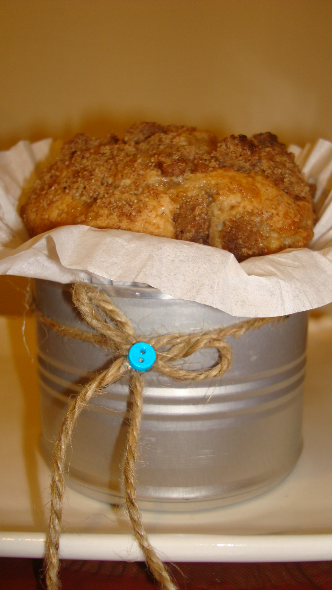 GO RUSTIC  . . . . . BAKE IT IN A CAN!
