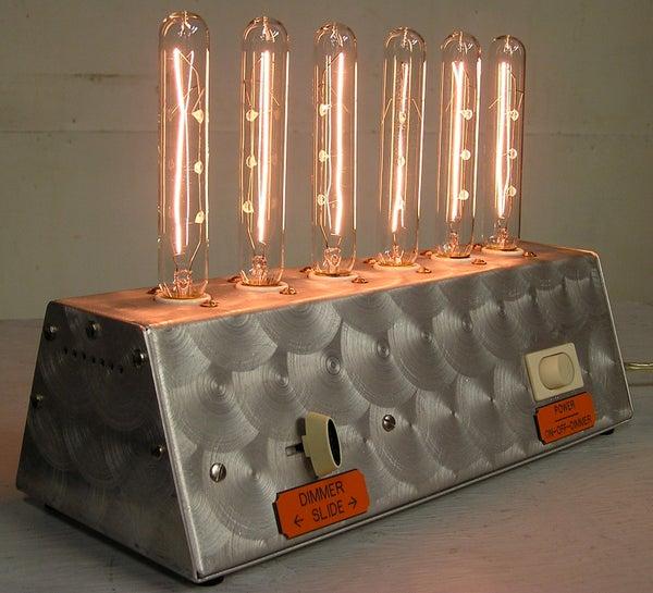 Mad Scientist Lamp