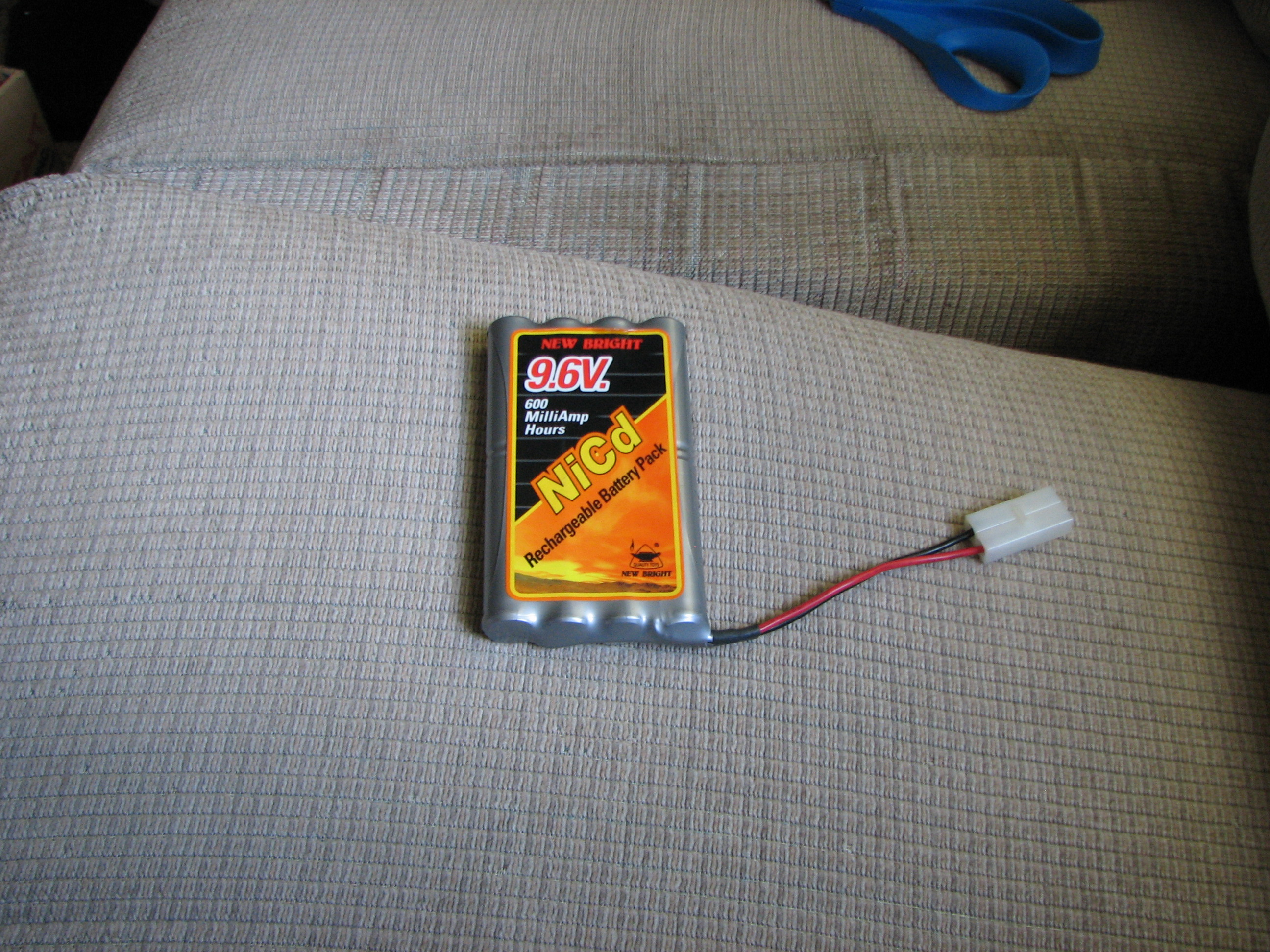 Repair A Thermally-Fused 9.6v Battery Pack