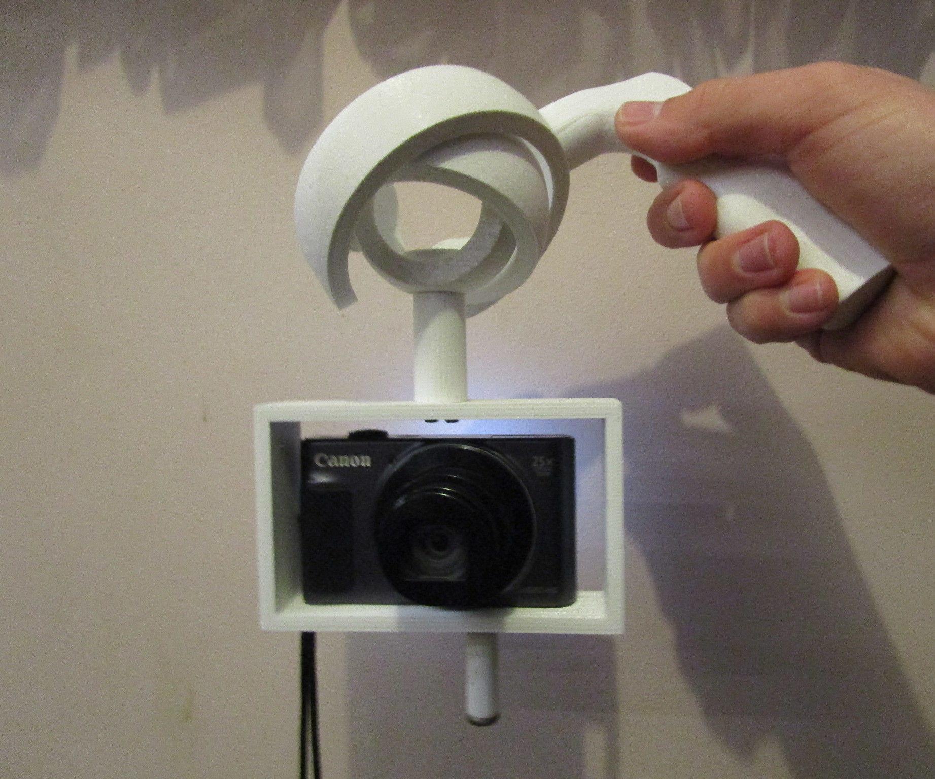 3D Printed Camera Gimbal (Tinkercad Contest)