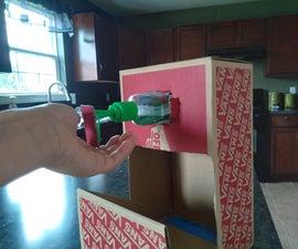 DIY Vans Shoebox Hand Sanitizer Dispenser!