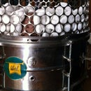 Indoor Eco Drum Snare Fire Pit - Lareira Ecológica