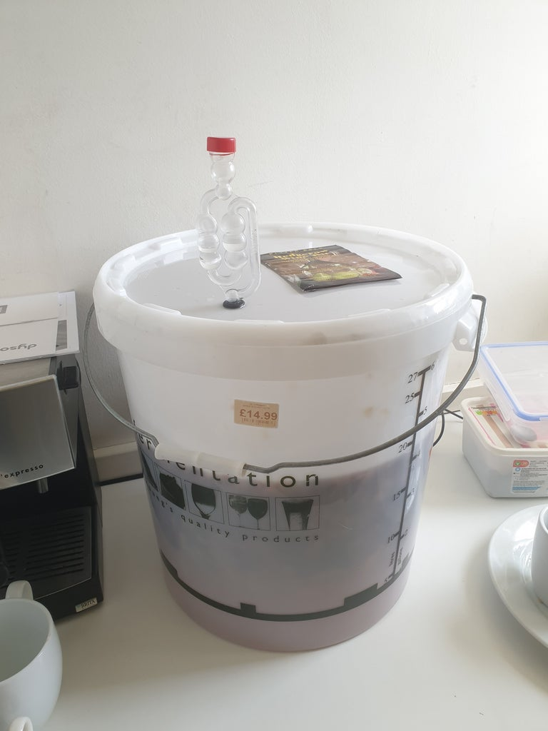 Add Airlock, Top Up With Cold Water