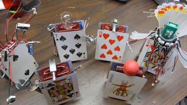 How to Make Card Soldiers Out of Old Pharmacy Bottles