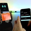 DIY Robotics Plattform Using a Smartphone and Paper Circuits