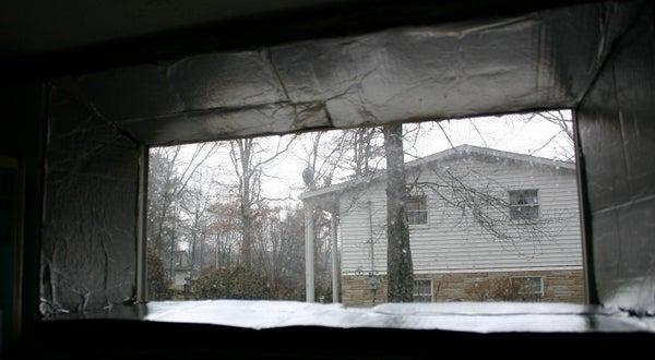 Illuminance Increasing Window Reflector