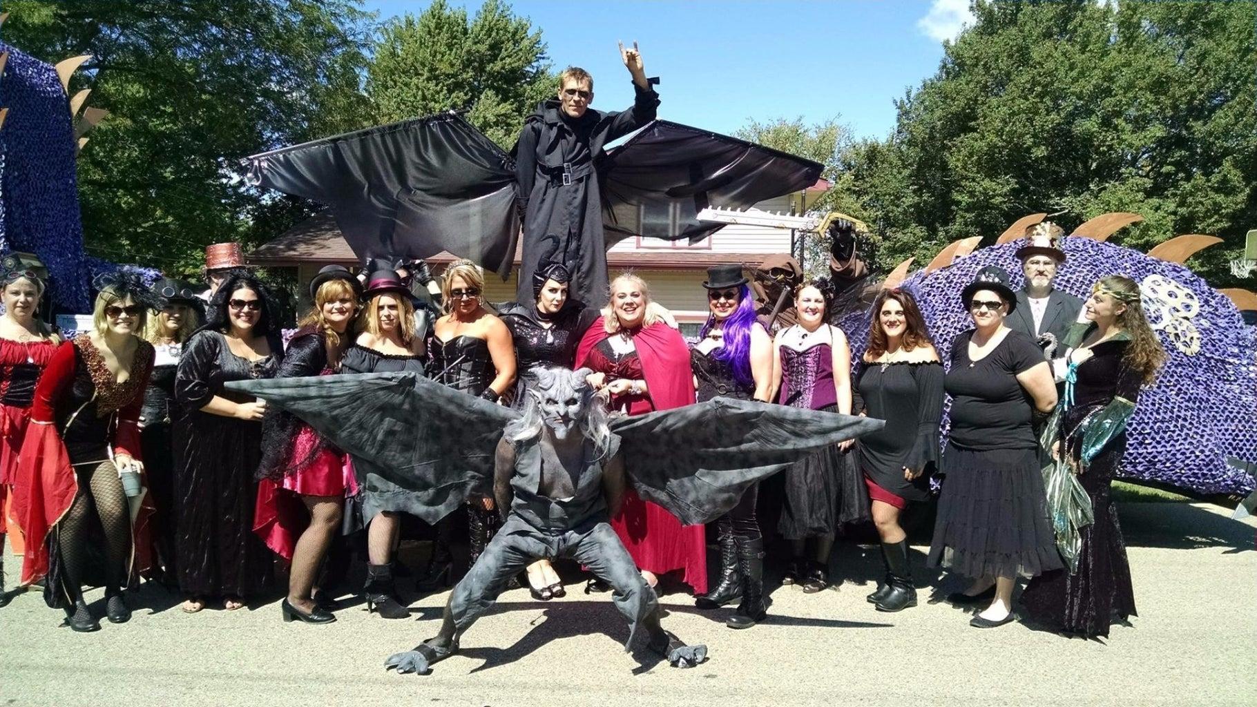 Gargoyle and Wings