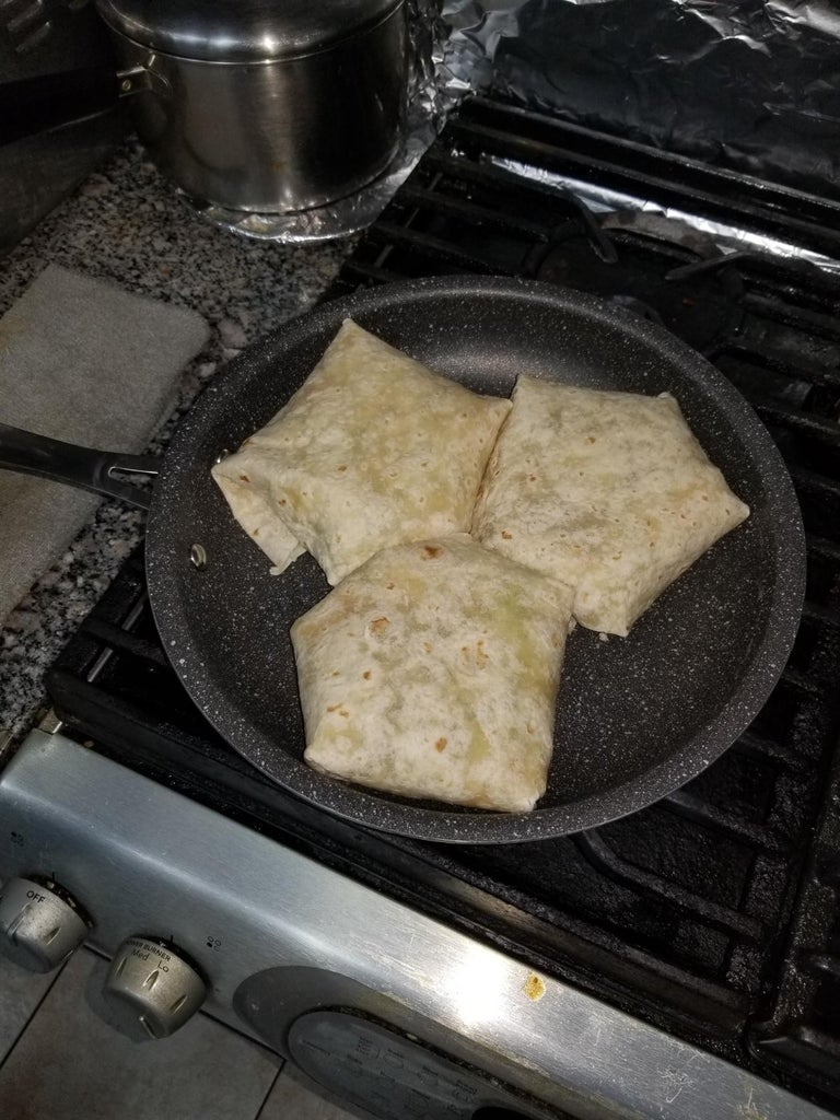 Step 6: Cooking the Wraps