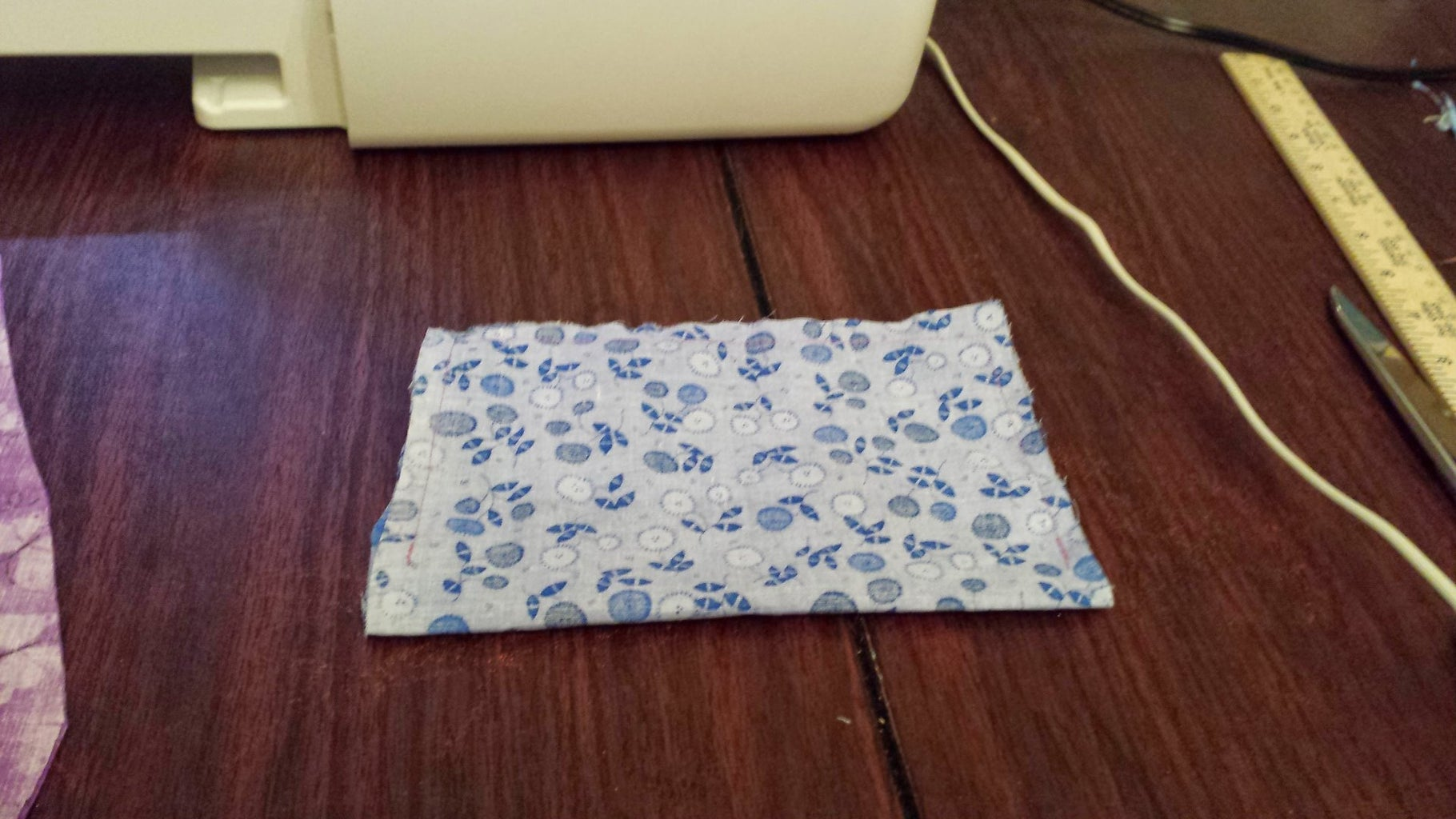 Sew Pocket and Attach to Lining