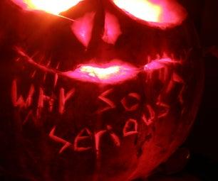 Why So Serious?!?!? Joker Pumpkin