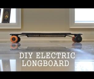 Homemade Electric Longboard