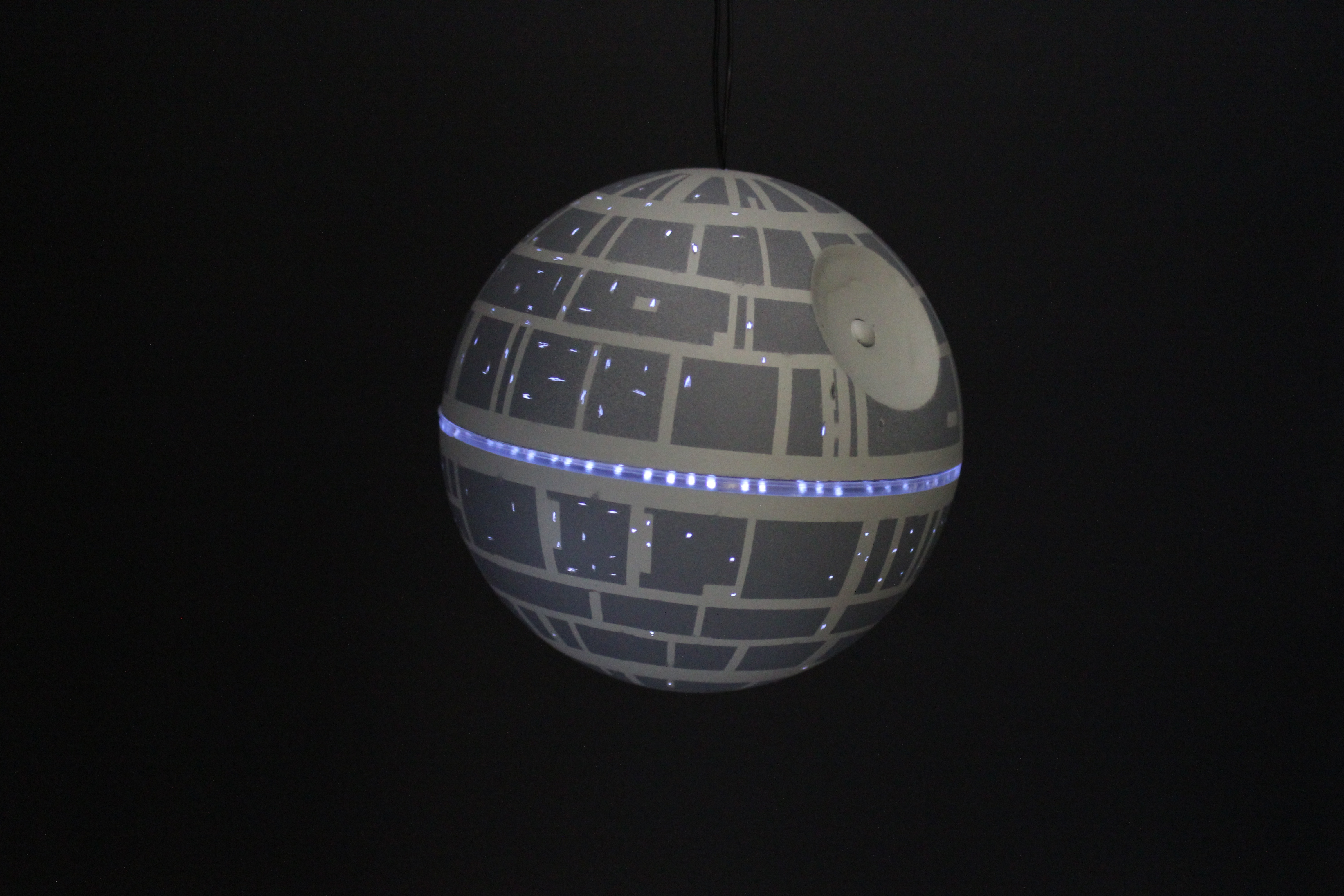 DIY Death Star Ornament