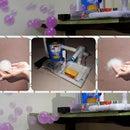 Color Smoke Bubble Machine (For Kids Safe Incense Smoke)
