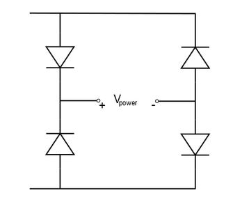 Rectify Voltage: Make a Diode Bridge