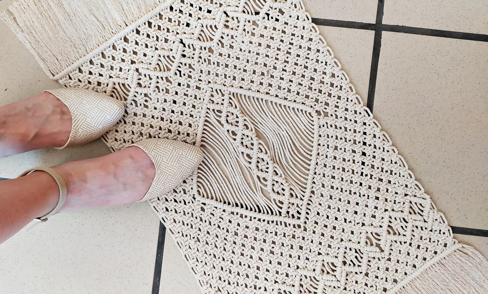 如何制作波西米亚流苏地毯