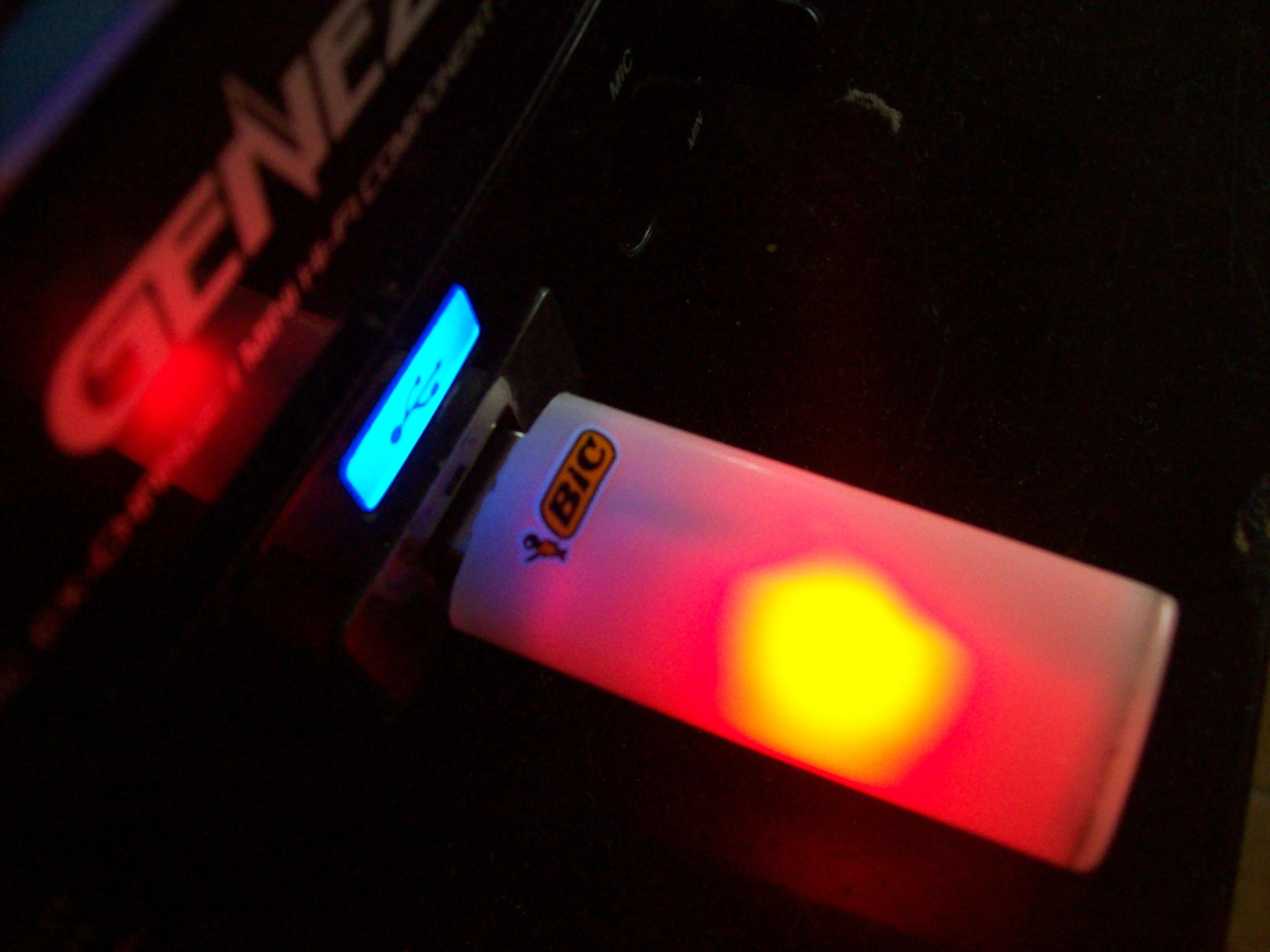 USBic Flash Drive.