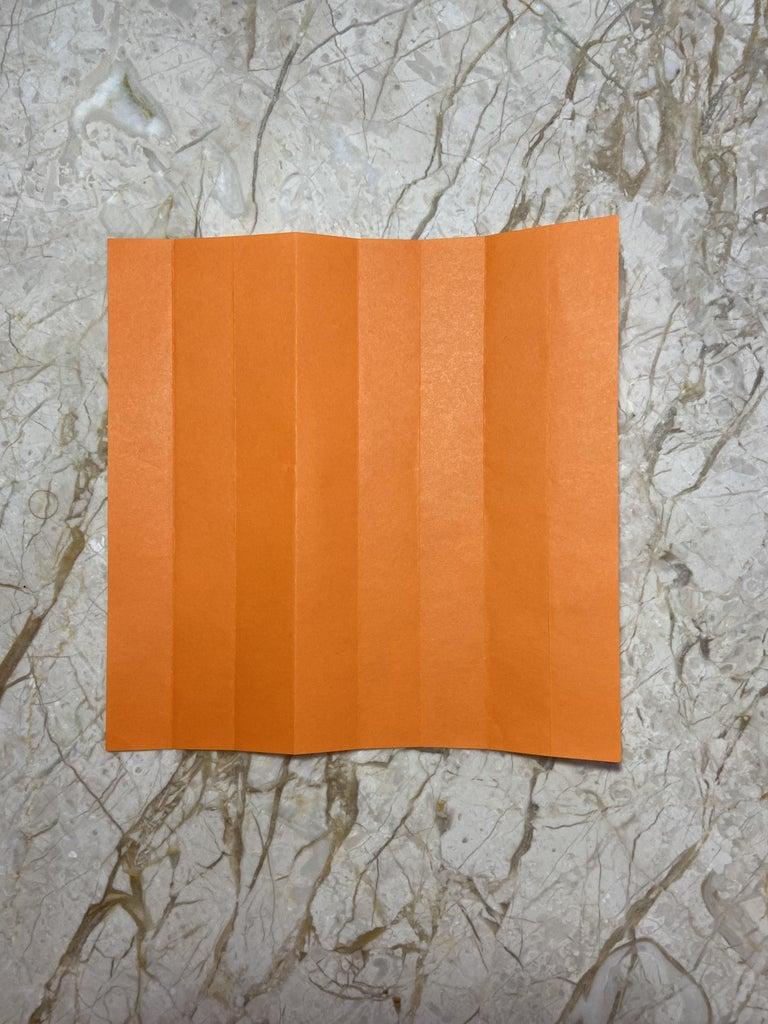Making the Paper Pumpkin