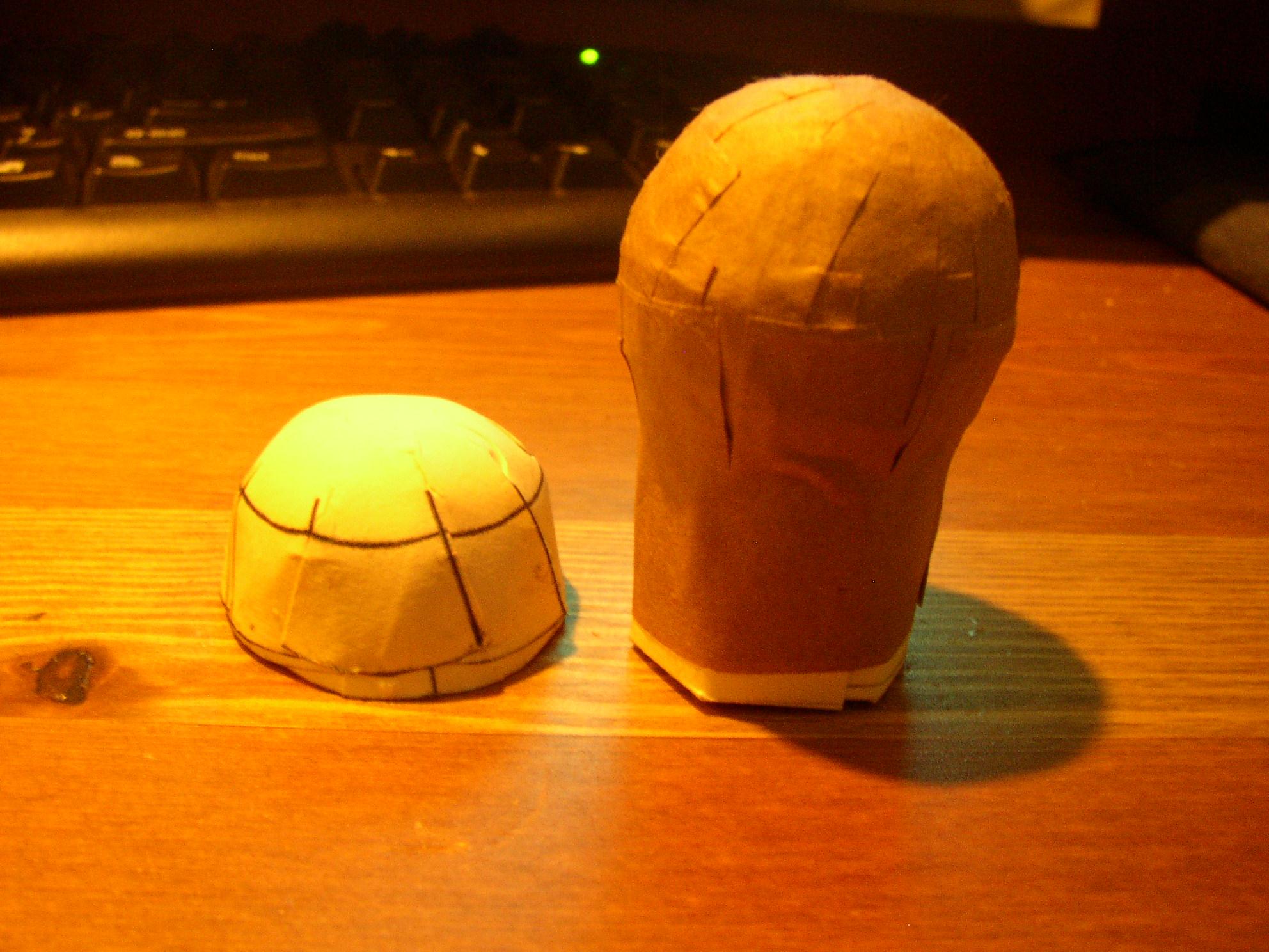 How to make Aerial-Shell Hemispheres