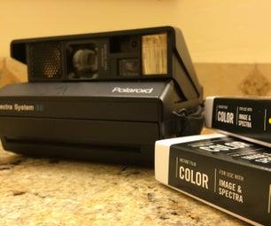Take Multiple Exposures on a Polaroid Spectra
