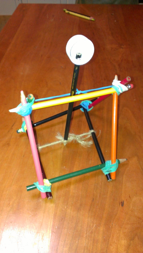 Office Supply Catapult, Goes 35 Feet!!!