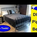 DIY Pipe Bed With NO Tools!