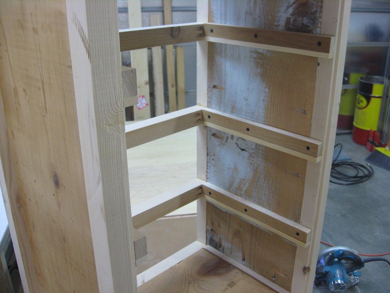 Hardwood Drawer Rails