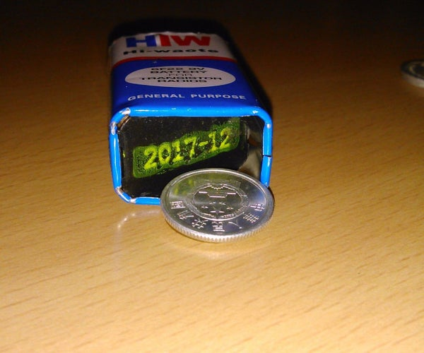 Turn Old Battery Into Secret Compartment