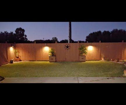 DIY PVC Wall Sconce Lighting