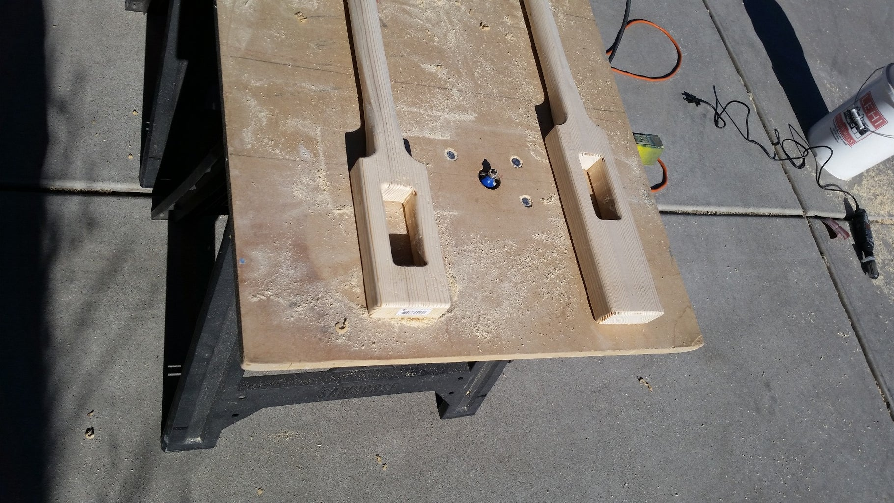 Router Uprights