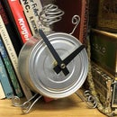Cat Food Can Clock