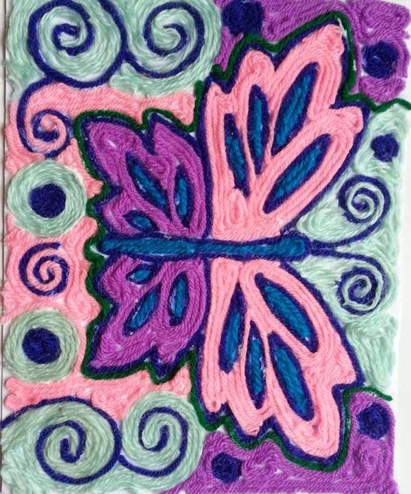 DIY Fun Yarn Art