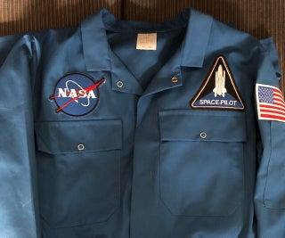 美国宇航局宇航员飞行套装(简单)