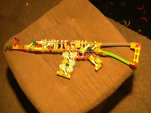 Knex AK-74