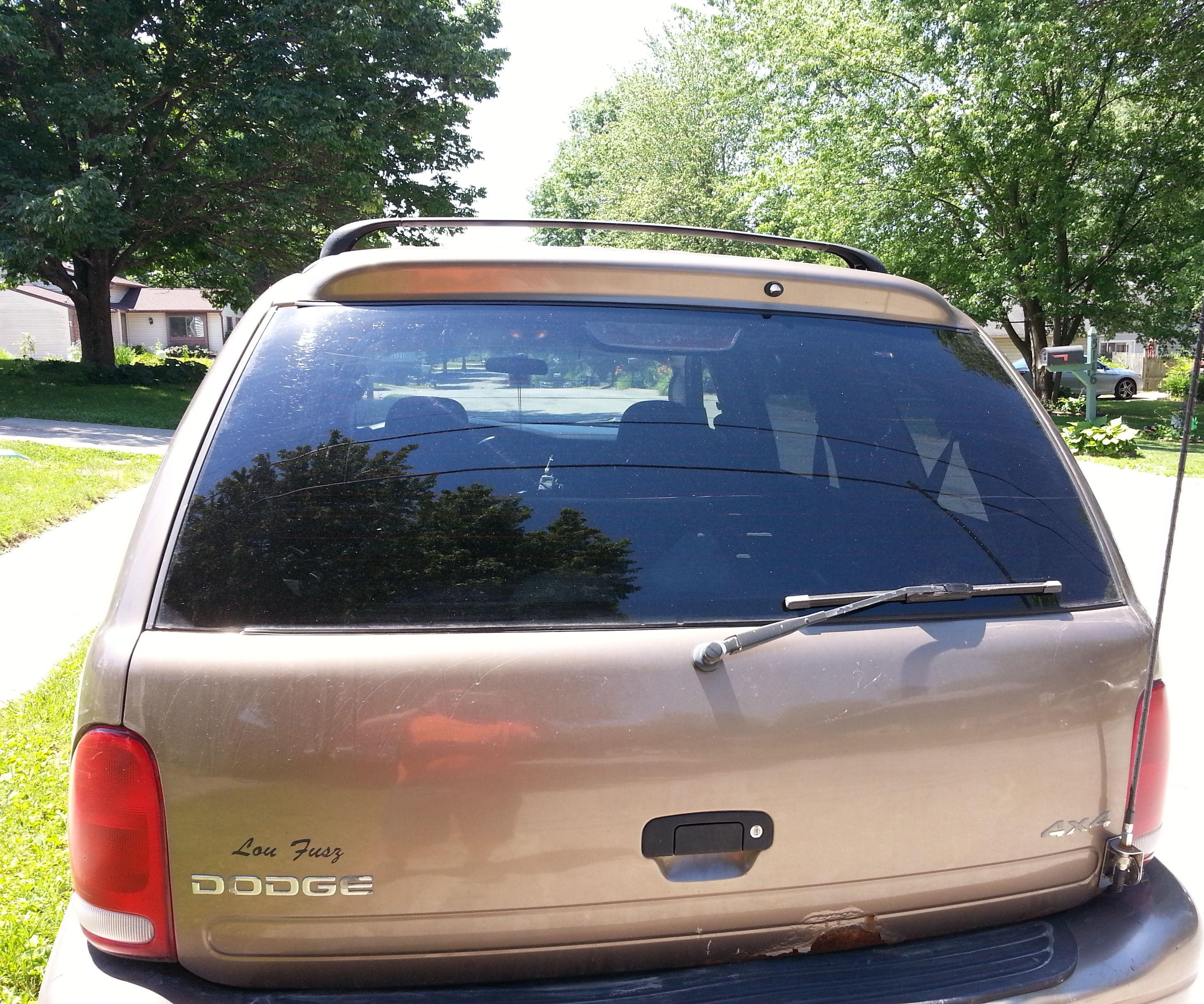 Durango rear hatch antenna mount