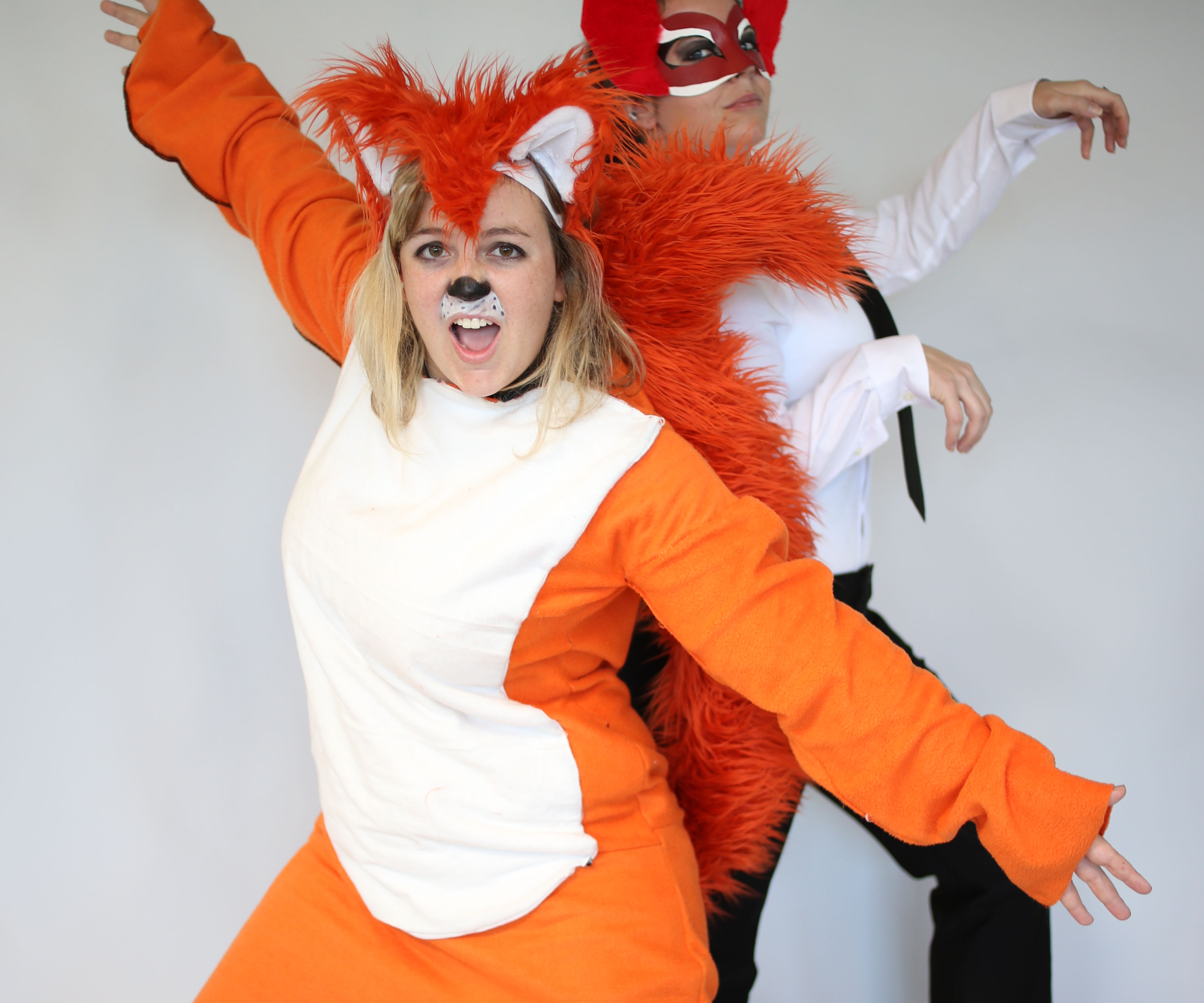 "Homemade ""What Does the Fox Say"" costume"